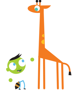 Boy and Giraffe